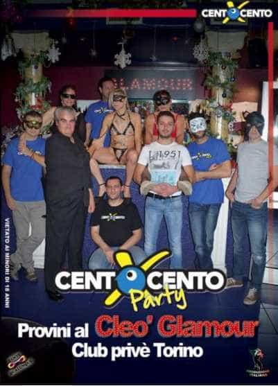 Provini al Cleo Glamour di Torino (CentoXCento Party)